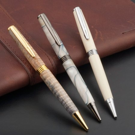 Roadster Pen Kit - Chrome 3 pen