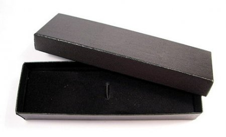 Black Top Textured Cardboard Pen Box - No Insert Top Textured Cardboard Pen Box - No Insert