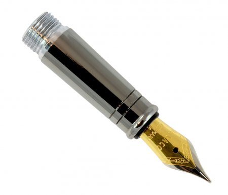 Jr. Gentlemen's Pen Fountain Pen Conversion Kit - Black Ti 2