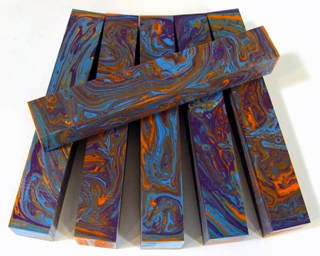 Color Explosion Pen Blanks #29 - Sunset Reflections
