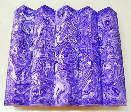 Color Explosion Pen Blanks #41 - Lilac Snow