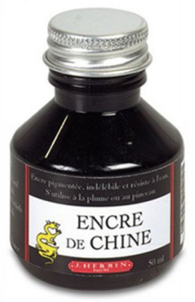India Ink by J. Herbin (Encre De Chine)