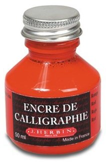 Calligraphy Ink - Red