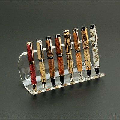 Semi Circular Display Stand - 8 Pen