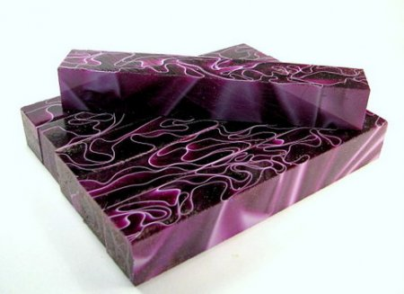 Purple Veils Acrylic Pen Blank