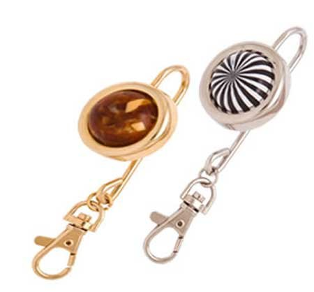 Keys-in-Reach Purse Hook Kit - 24kt Gold