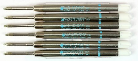 Monteverde Parker Style GEL Refills - Rainbow  (Choose From 7 Colors!)