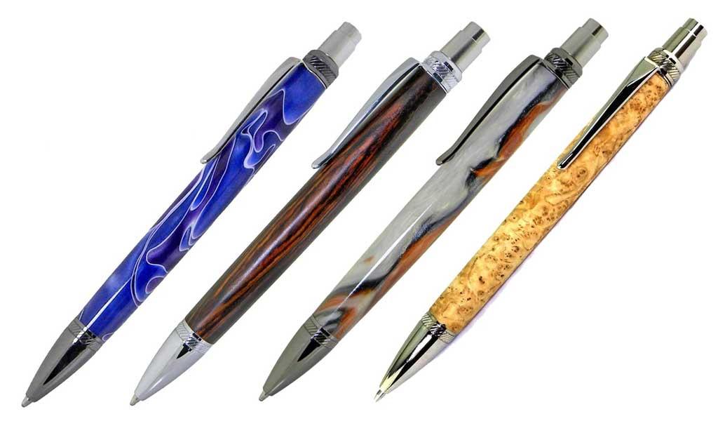 for woodturning Mixed Finishes Slimline Pen Kits X 5 off Sets