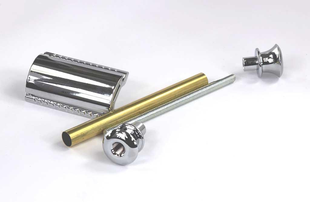Classic Safety Razor Kit - Chrome