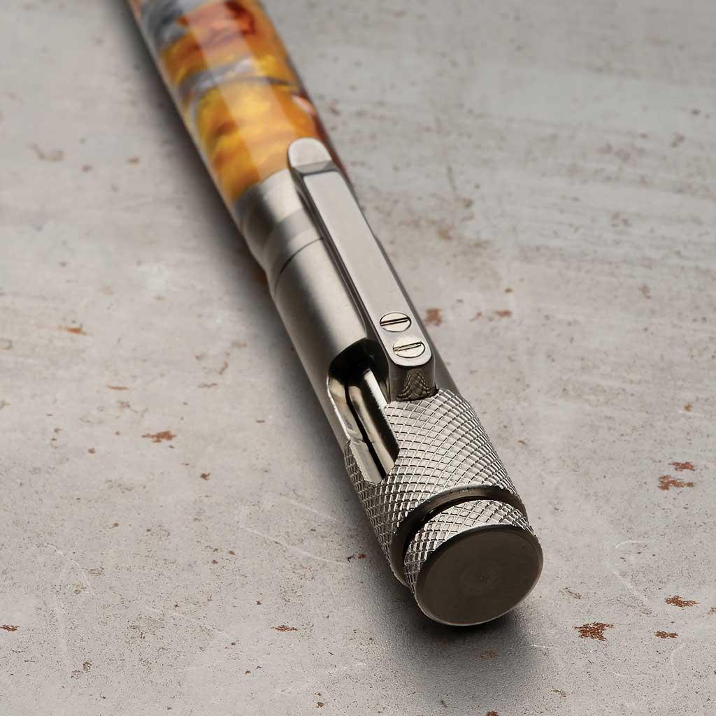 Clip Bolt Action Pen Kit Stainless Steel Pen Kits Exoticblanks