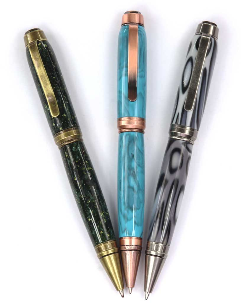 Exotic Hand Turned Wooden  Duchess pens