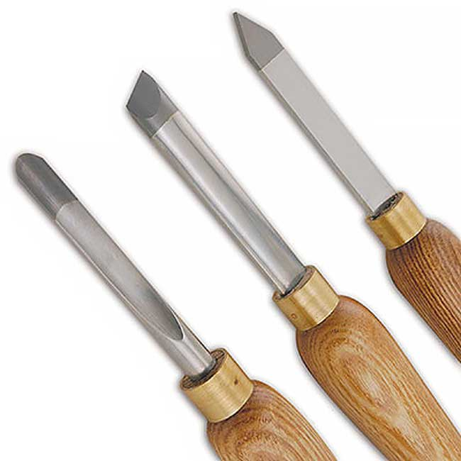Benjamins Best Carbide Turning Chisels 3 Piece Set